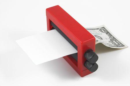 dinero falso: Dinero cambiador de truco de magia  Foto de archivo