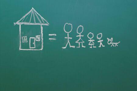 Chalkboard Stock Photo - 849236
