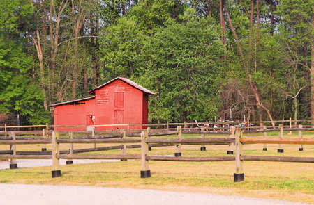 outbuilding: Red Barn