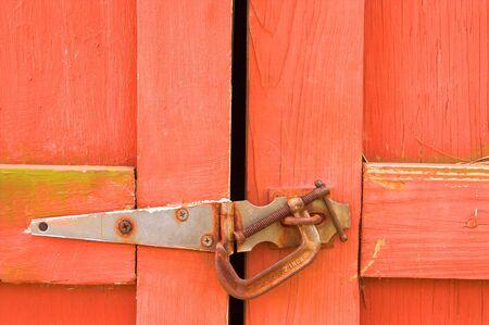 c clamp: Barn Door