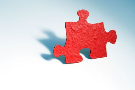 Jigsaw Puzzle Piece Stock Photo - 885556