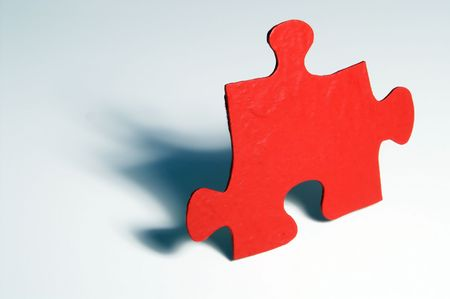 Jigsaw Puzzle Piece Stock Photo - 885558