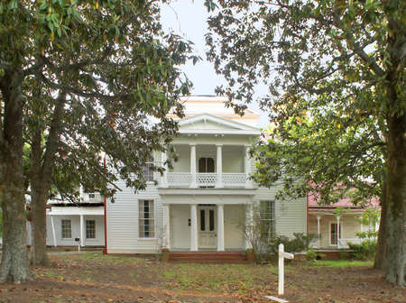 grandiose: Old Plantation House Stock Photo