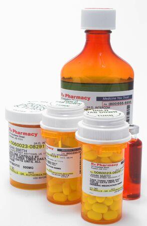 pill bottle prescription bottle: Prescription Medication