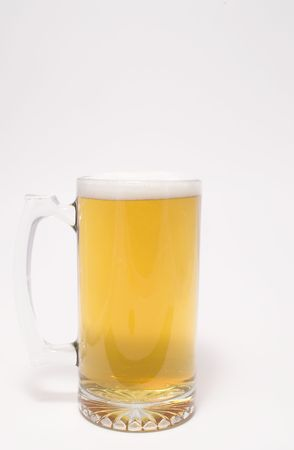 A glass mug of ice cold beer. Stock Photo - 945103