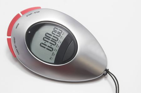 A modern digital electronic sports stop watch.