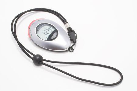 A modern digital electronic sports stop watch.
