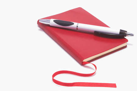 An appointment style notebook for daily planning. Stock Photo