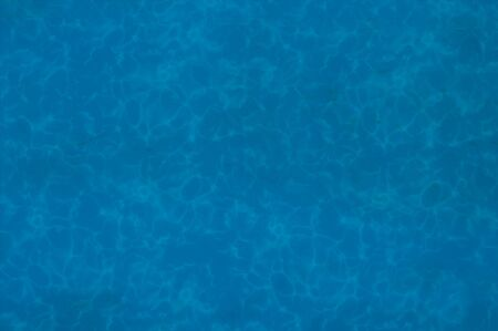 The bottom of a pool of dep blue water. Stock Photo - 1446406
