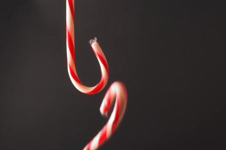 december 25th: Deliciously sweet candy canes for the Christmas season.
