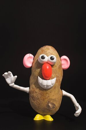 A potato who thinks he is a man.