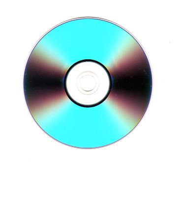 A colorful close-up of a cd or dvd.