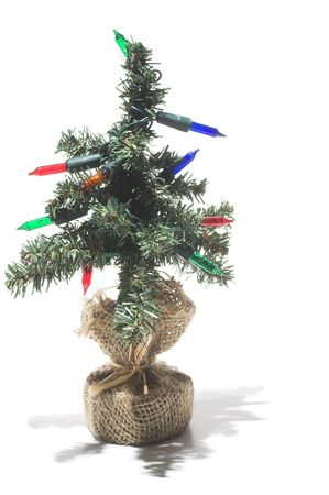 december 25th: A bright, colorful and festive Christmas tree.