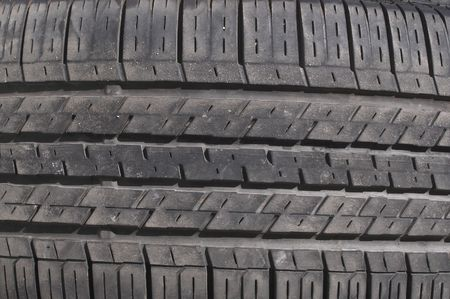 A close-up image of an automobile tire. Stock Photo - 2138034