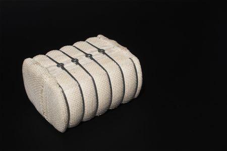 plant gossypium: Una balla di cotone grezzo usato per fare prodotti tessili.