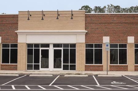 commercial real estate: Un vac�o de edificios listos para su ocupaci�n.  Foto de archivo