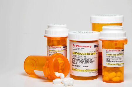 doses: Prescription Medication - Label is fictief