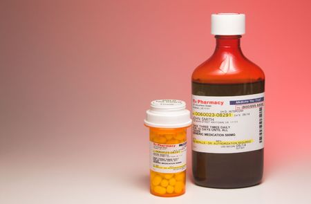 Prescription Medication - Label is fictitious Stock Photo - 2503902