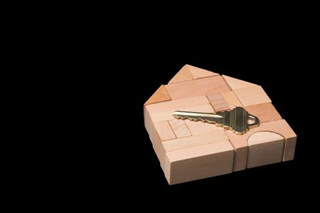 The key to a brand new home. Stock Photo - 2632259