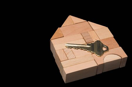 The key to a brand new home. Stock Photo - 2632263