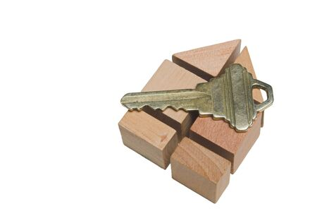 The key to a brand new home. photo