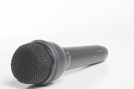 entertainment industry: A modern wireless microphone used in the entertainment industry.