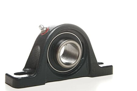 A standard mechanical bearing used in various types of machinery.
