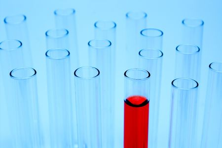 testtube: A series of test tubes used for experimentation.