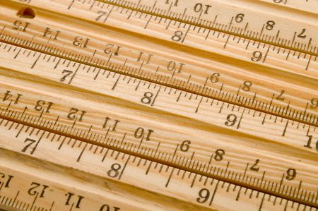 incremental: A set of rulers aligned side by side.