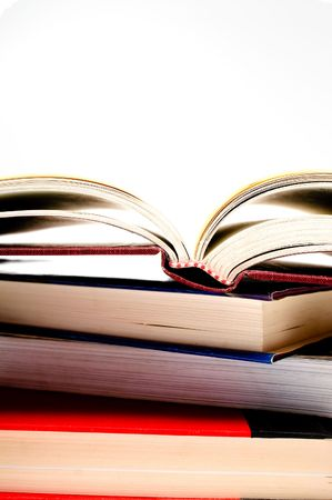 A stack of books ready to be studied. Stock Photo - 3235423
