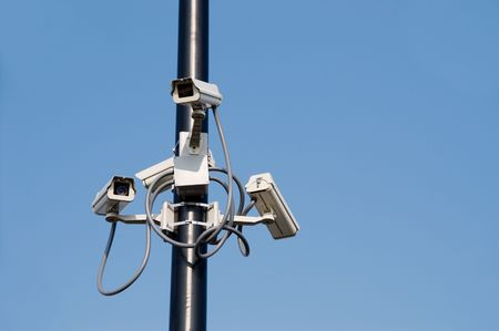 Security Cameras Stock Photo - 3351684