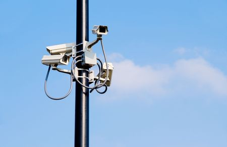 Security Cameras Stock Photo - 3351683