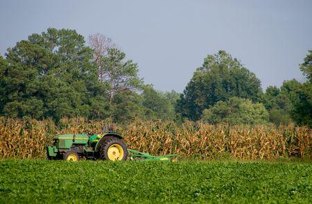 A farm in a rural area of America. photo