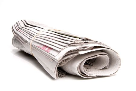A daily newspaper ready for a loyal subscriber. Stock Photo - 3612394