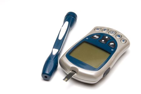 prick: A diabetics test meter and finger prick device