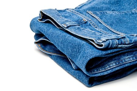 denim jeans: The always fashionable and stylish blue denim jeans.