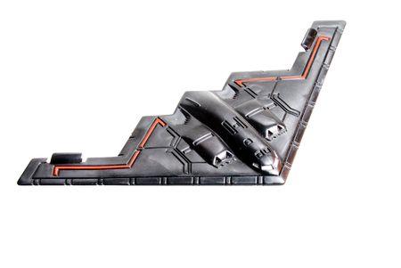 De kopie van een model van de stealth bommenwerper.  Stockfoto - 3838573
