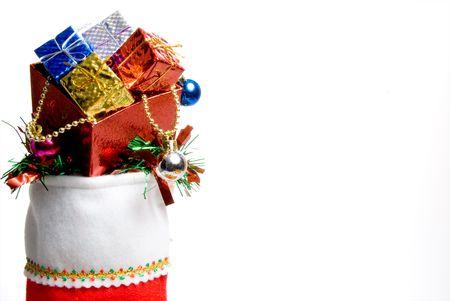 Una densidad de población de Navidad lleno de buenos vacaciones. Foto de archivo - 3838572