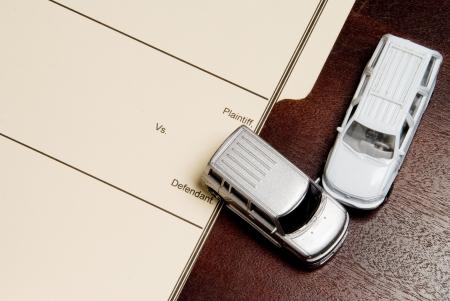 事故のレクリエーションと個人傷害訴訟フォルダー。
