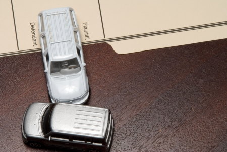 traffic ticket: A Personal Injury Law Case with cars.