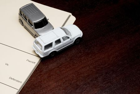 sue: A Personal Injury Lawsuit with model cars.
