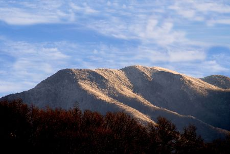 Die Appalachen-Gebirge in der östlichen Vereinigten Staaten.