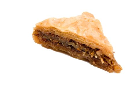 baklawa: The delicious gourmet dessert known as baklava. Stock Photo