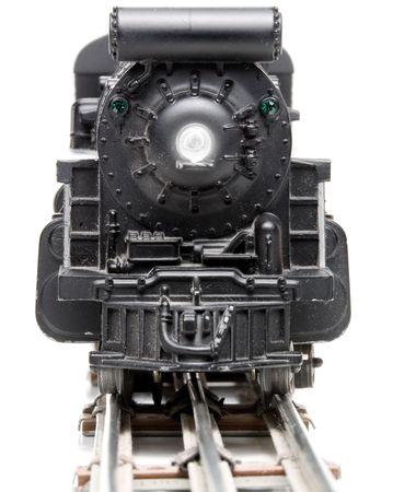 A miniature replica of a steam powered train. Stock Photo - 4289468