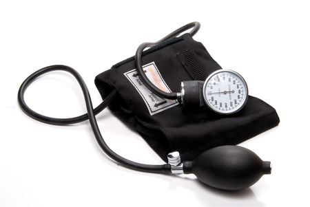 A professional blood pressure tool known as a Sphygmomanometer. Stock Photo - 4367315