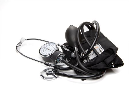 A professional blood pressure tool known as a Sphygmomanometer. Stock Photo - 4367324