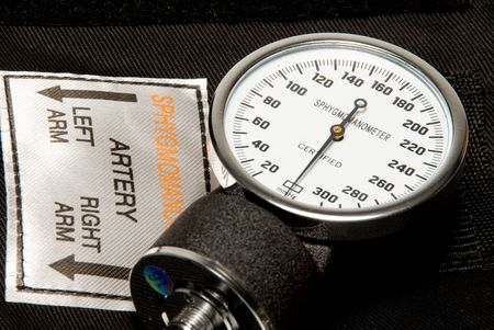 A professional blood pressure tool known as a Sphygmomanometer. Stock Photo - 4367326
