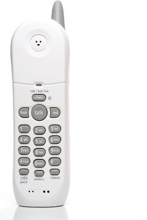 A modern home style cordless digital telephone. Stock Photo - 4386244