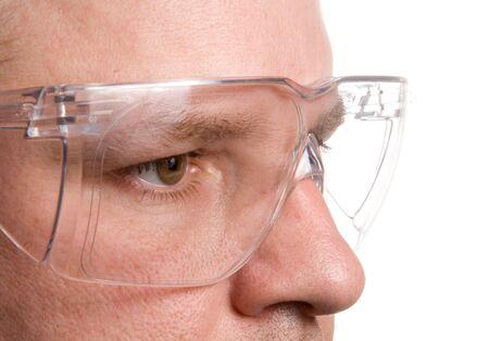 安全メガネ 写真素材