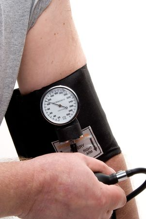 A professional blood pressure tool known as a Sphygmomanometer. Stock Photo - 4611757